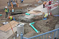 Pipeline Construction Project - Residential Complex