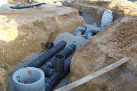 Pipeline Construction Project - Commercial Complex